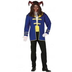 Disfraz de Principe Azul Bestia para Adulto