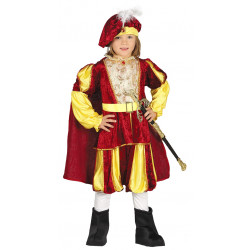 Principe Medieval infantil . Traje de principe para niño.
