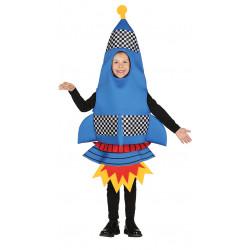 Disfraz de Cohete infantil . Traje espacial para niño