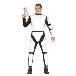 Disfraz de soldado espacial adulto. Disfraz de Stormtrooper para adulto