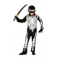 Disfraz Esqueleto Ninja Niño