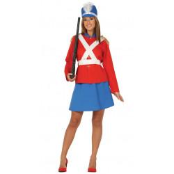 Disfraz Soldadita de Plomo Adulta. Uniforme de soldado ingles