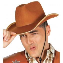 Sombrero Vaquero cowboy Marrón