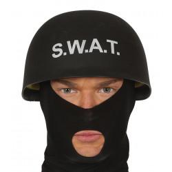 Casco agente SWAT para adulto