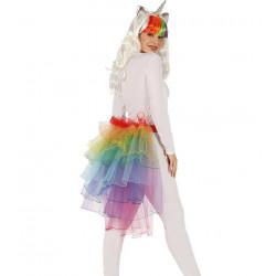 Tutú Multicolor de Unicornio - Tutú Arcoíris