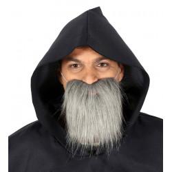 Barba con Canas - Barba Gris