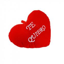 Corazón Afelpado 'Te quiero' con Sonido - Regalo San Valentín