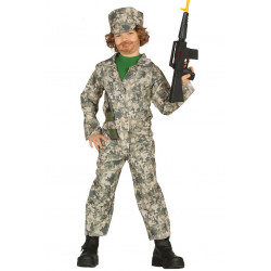 Disfraz de Militar Infantil - Disfraz de Camuflaje