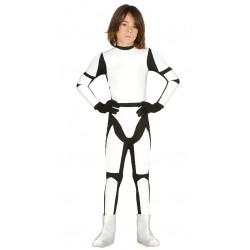 Disfraz de Soldado Espacial Infantil - Stormtrooper para Niño