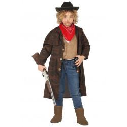 Disfraz de Vaquero Infantil - Chaqueta Cowboy para Niño
