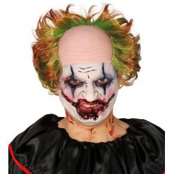 Peluca de Payaso Asesino con Calva - Peluca Joker