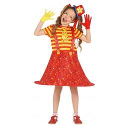 Disfraz de Payasita Infantil - Disfraz de Payaso para Niña