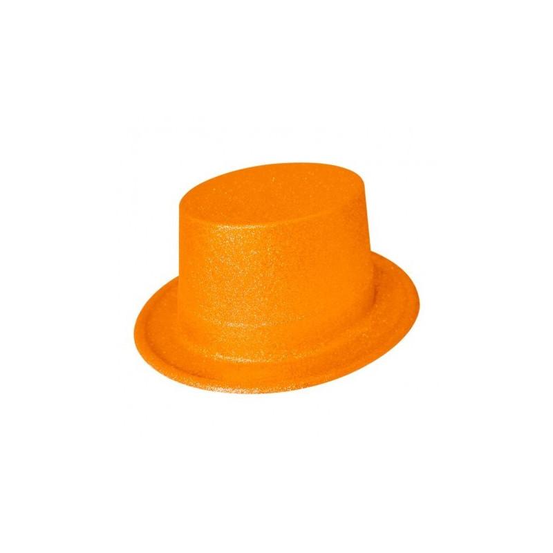 Chistera con Purpurina Naranja - Chistera de Fiesta 791184138e8