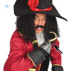 Garfio Pirata con calaveras PVC