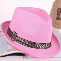 Sombrero Rosa de Gángster - Sombrero de Fiesta