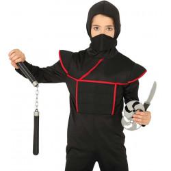 Set de Ninja con Nunchacos + Estrella + Cuchillo
