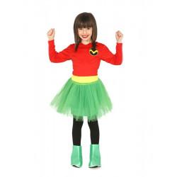 Disfraz de Heroína Infantil - Disfraz de Superhéroe para Niña