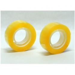 Pack 2 Celos Amarillos para uso escolar -18 mm x 35 mtrs