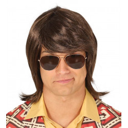 Peluca de Hombre de los años 70's