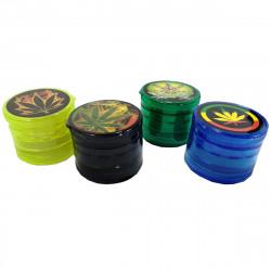 Molinillo de Tabaco de Plastico de 3 Piezas