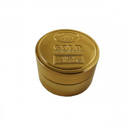 Molinillo de Metal Color Oro, 3 Piezas