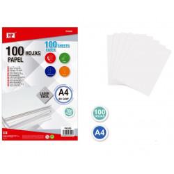 Pack 100 Hojas de Papel A4