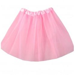 Tutú Infantil Rosa - Falda de Tul 30cm