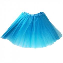 Tutú Infantil Azul Turquesa - Falda de Tul 30cm