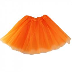 Tutú Infantil Naranja - Falda de Tul 30cm
