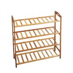 Zapatero de Bambú 68 x 24 x 71 Cm