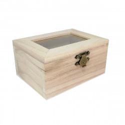 Caja de Madera 12 x 9 x 5.8 Cm
