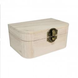 Caja de Madera 12.8 x 8.5 x 5.5 Cm