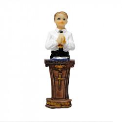 Figura de Yeso para comunión de Niño. Figura de 8,5 cm