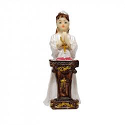 Figura de Yeso para comunión de Niña. Figura de 8,5 cm