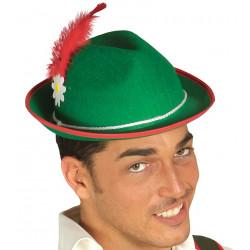 Sombrero verde de Tirolés y San Patricio
