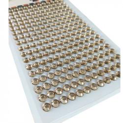 Pegatinas Brillantes 6 mm, 234 unidades. Strass Siena para DIY
