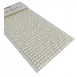 Set Perlas Adhesivas 4 mm, 480 piezas. Perlas de decoración