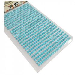 Set Perlas Adhesivas 4 mm, 480 piezas. Perlas Turquesa de decoración