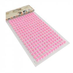 Perlas Adhesivas 6 mm, 234 piezas. Pegatinas Rosa Nacaradas