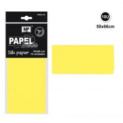 Papel Seda Amarillo, 50x66 Cm