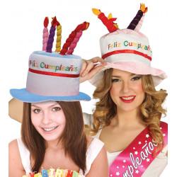 Sombrero de cumpleañero  'Feliz Cumpleaños'