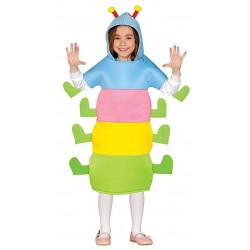 Disfraz de Gusano para Niño y Niña - Traje de Gusanito Infantil
