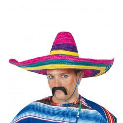 Sombrero mejicano colorines de paja