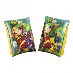 Manguito Inflable de Brazos Infantil - Manguito de Mickey y Minnie Mouse