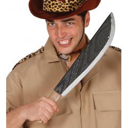 Machete de Asesino / Cazador de la jungla para disfraz