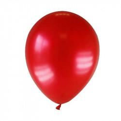 10 Globos rojo carmesí Ø25 cm para cumpleaños y fiestas