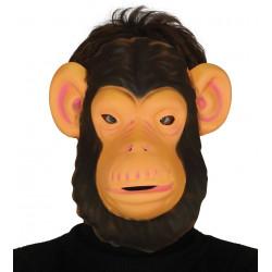Careta Chimpancé de Goma Eva