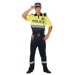 Disfraz de policía local adulto. Disfraz de ertzaintza para adulto
