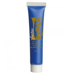 Maquillaje en Crema Azul oscuro