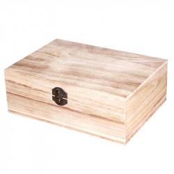 Caja Organizadora de Madera 23x16 cm Multiusos. Caja joyero